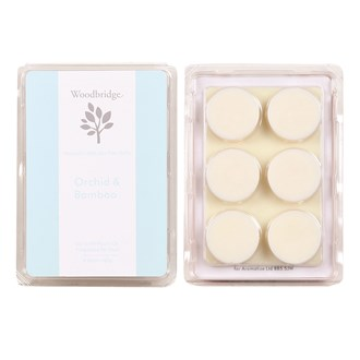 Woodbridge Orchid & Bamboo Soy Wax Melt Pack