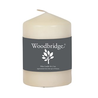 Woodbridge Pillar Candle - Ivory
