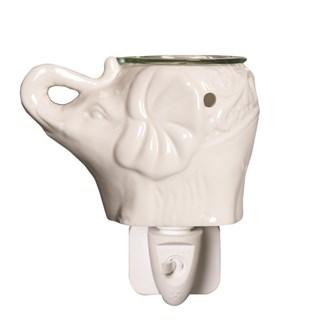 Wax Melt Burner Plug In - Ceramic Elephant