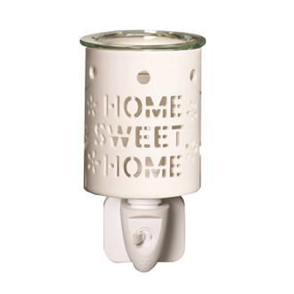 Wax Melt Burner Plug In - Ceramic Home Sweet Home