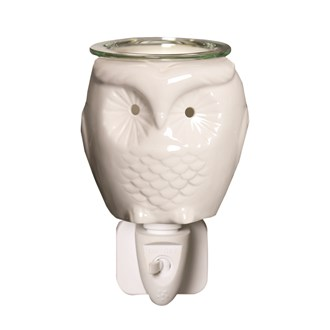 Wax Melt Burner Plug In - Ceramic Owl