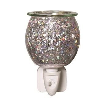 Wax Melt Burner Plug In - Glitter Glass