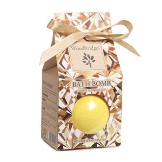 Amber & Ginger Lily - Fragranced Bath Bomb by Woodbridge