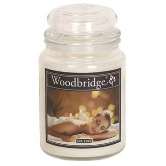 Spa Day Woodbridge Large Scented Candle Jar