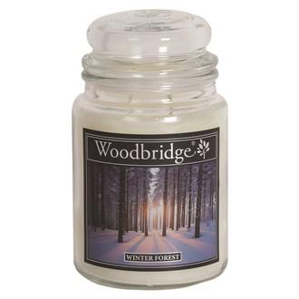 Winter Forest Woodbridge Large Scented Candle Jar