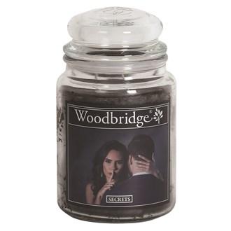 Secrets Woodbridge Large Scented Candle Jar