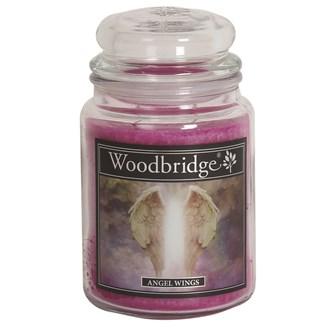 Angel Wings Woodbridge Large Scented Candle Jar