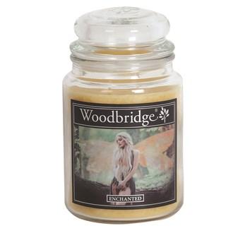 Enchanted Woodbridge Large Scented Candle Jar