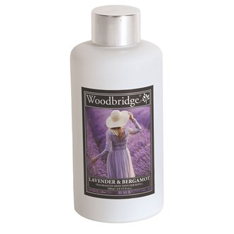 Woodbridge Reed Diffuser Liquid Refill Bottle - Lavender & Bergamot