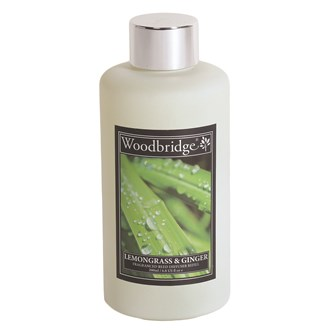 Woodbridge Reed Diffuser Liquid Refill Bottle - Lemongrass & Ginger
