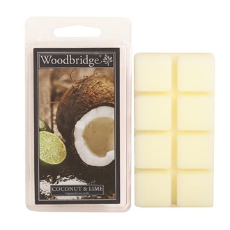 Coconut & Lime Woodbridge Scented Wax Melts