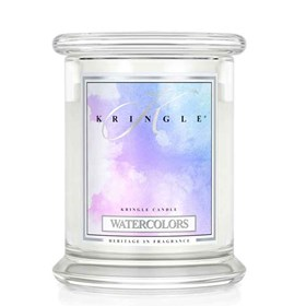 Watercolors 14.5oz Candle Jar