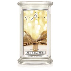 Gold & Cashmere 22oz Candle Jar