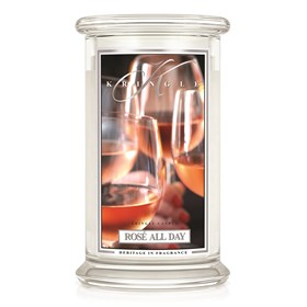 Rosé All Day 22oz Candle Jar