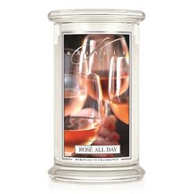 Rosé All Day 22oz Candle Jar