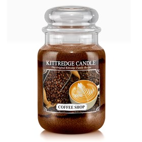 Coffee Shop 23oz Candle Jar