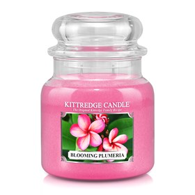 Blooming Plumeria 16oz Candle Jar