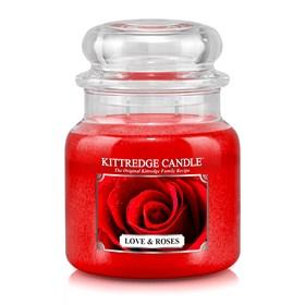 Love & Roses 16oz Candle Jar