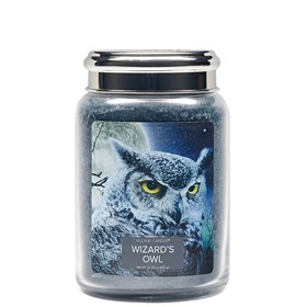Wizards Owl Village Candle 26oz Scented Candle Jar