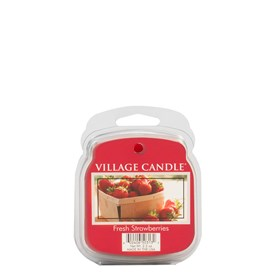 Fresh Strawberries Village Candle Scented Wax Melts