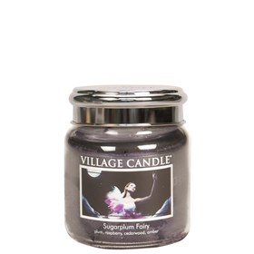Sugarplum Fairy Village Candle 16oz Scented Candle Jar