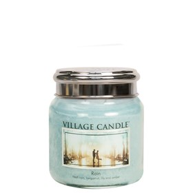 Rain Village Candle 16oz Scented Candle Jar