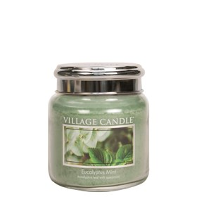 Eucalyptus Mint Village Candle 16oz Scented Candle Jar