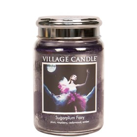 Sugarplum Fairy Village Candle 26oz Scented Candle Jar