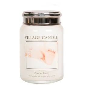 Powder Fresh Village Candle 26oz Scented Candle Jar