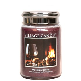 Mountain Retreat Village Candle 26oz Scented Candle Jar