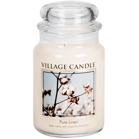 Pure Linen Village Candle Large Scented Jar
