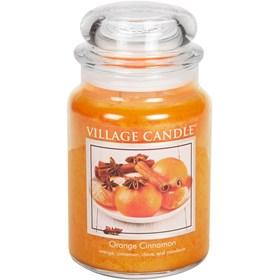 Orange Cinnamon Village Candle Large Scented Jar