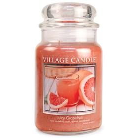 Juicy Grapefruit Village Candle Large Scented Jar
