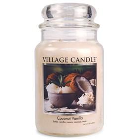 Coconut Vanilla Village Candle Large Scented Jar