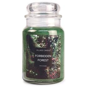 Forbidden Forest Village Candle Large Scented Jar