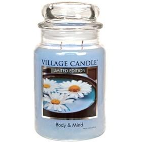 Body & Mind Village Candle Large Scented Jar