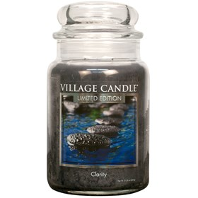 Clarity Village Candle Large Scented Jar