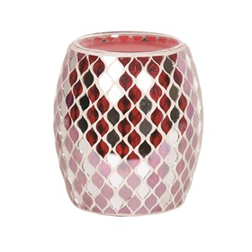 Red Mirror Teardrop Electric Wax Melt Burner