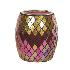 Electric Wax Melt Burner - Purple & Gold Diamond