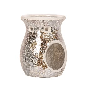 Gold and Silver Crackle Burner