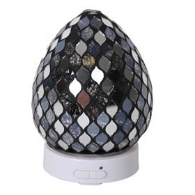 Black Mirror Teardrop LED Ultrasonic Diffuser