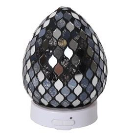 LED Ultrasonic Diffuser - Black Mirror Teardrop