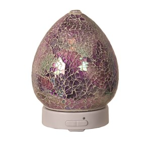 LED Ultrasonic Diffuser - Purple Crackle