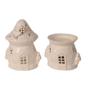 Ceramic Bird House Burner