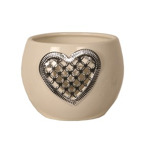 Ceramic Heart Tealight Holder