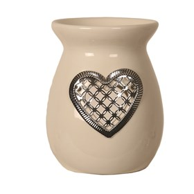 Ceramic Wax Melt Burner - Heart