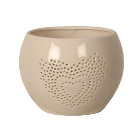 Ceramic Heart Tealight Holder