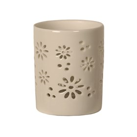 Ceramic Daisy Votive Holder
