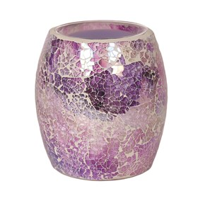 Purple Crackle Electric Burner
