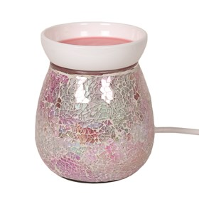 Electric Wax Melt Burner - Pink Crackle